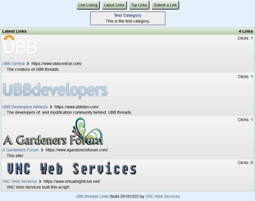 UBB.threads Links - Latest Links
