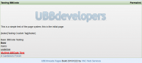 UBB.threads Pages - Page View